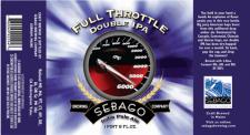 Sebago Brewing - Full Throttle Double IPA