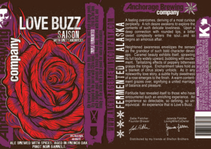 Anchorage Love Buzz Saison