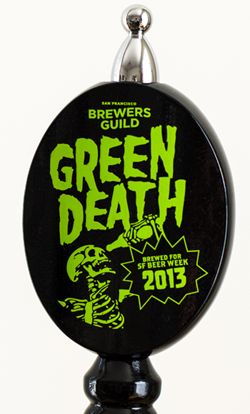 SF Brewers Guild's SFBW collaboration - Green Death.