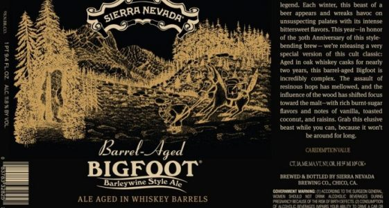 Sierra Nevada Barrel Aged Bigfoot