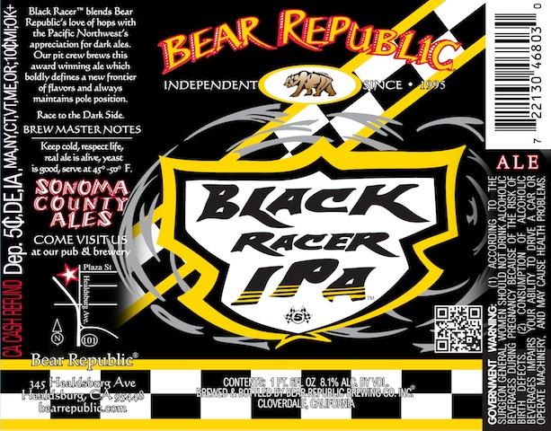 Bear Republic Black Racer IPA