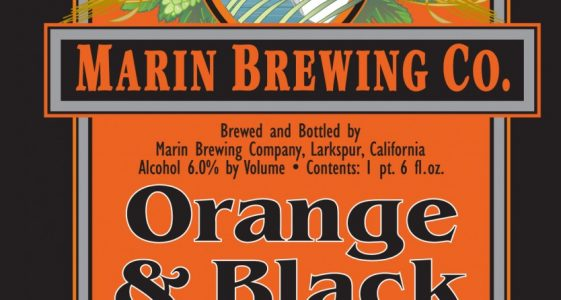 Marin Brewing Orange