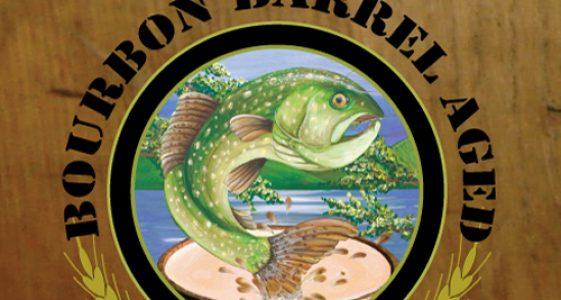 Sebago Brewing - Bourbon Barrel Aged  Lake Trout Stout