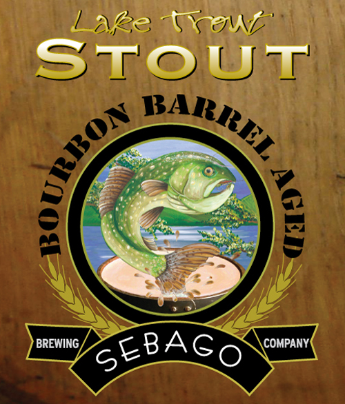 Sebago Brewing - Bourbon Barrel Aged Lake Trout Stout