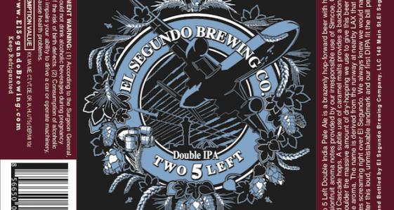 El Segundo Brewing Two Five Left