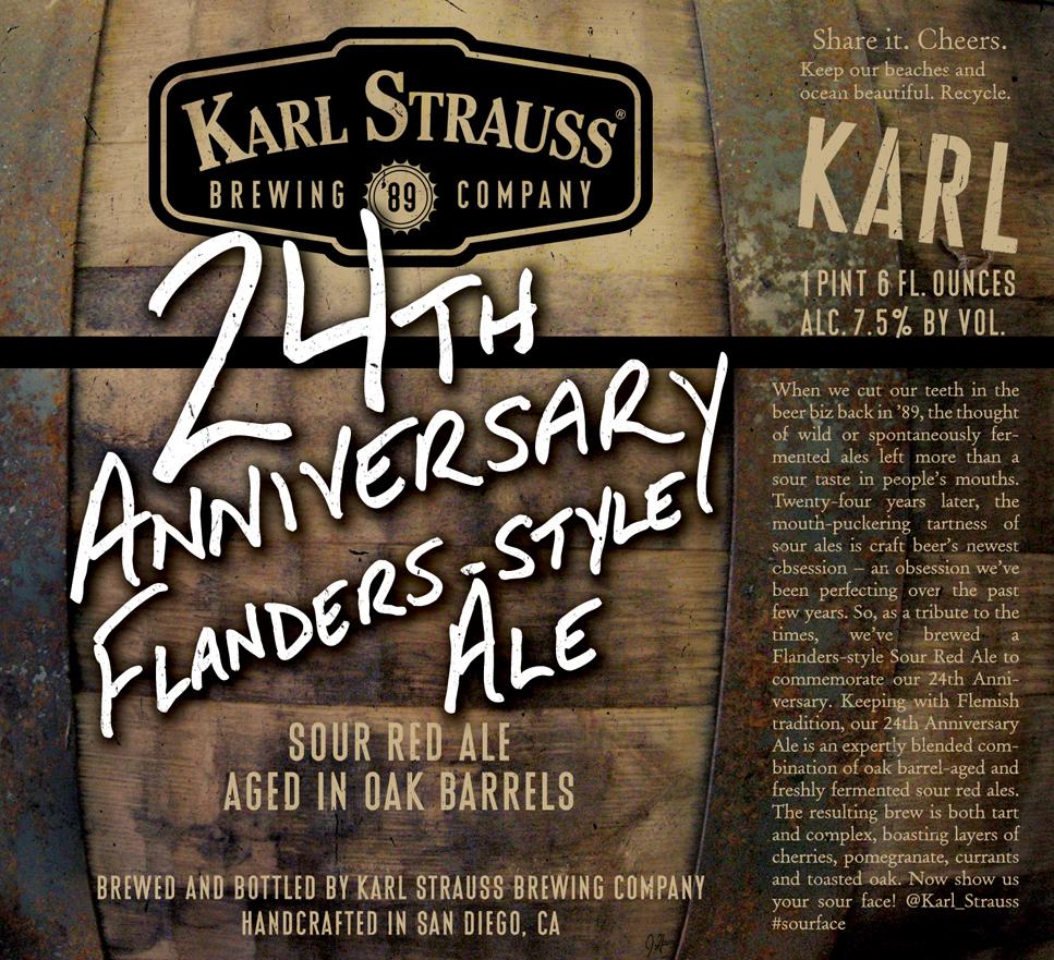 Karl Strauss 24th Anniversary Ale