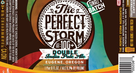 Oakshire Brewing To Release The Perfect Storm Double IPA On May 1st