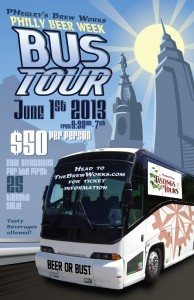 """""""Ph""""egley's Brew Works - Philly Beer Week Bus Tour"""