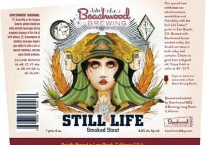 Beachwood Brewing - Still Life Smoked Stout (label)