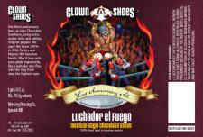 Clown Shoes Luchador en Fuego