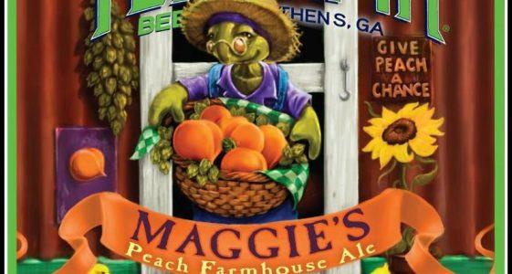 Terrapin Maggies Peach Farmhouse Ale