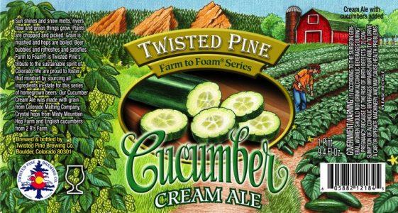 Twisted PIne Cucumber Cream Ale