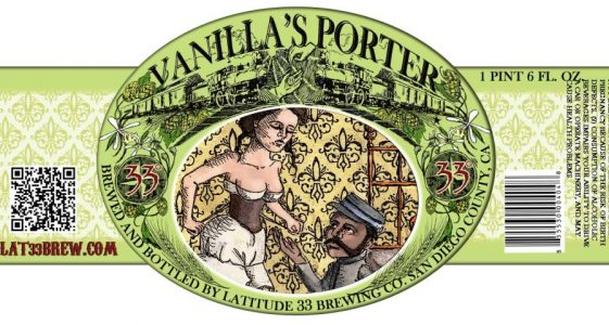 Latitude 33 Vanillas Porter