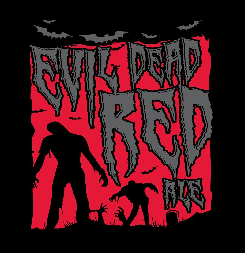 AleSmith Evil Dead Red Draft Label