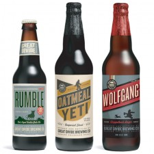 Great Divide- Rumble, Oatmeal Yeti & Wolfgang