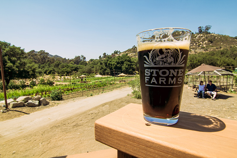 Stone brewing co announces stone farms is now open to the for Stone brewery escondido