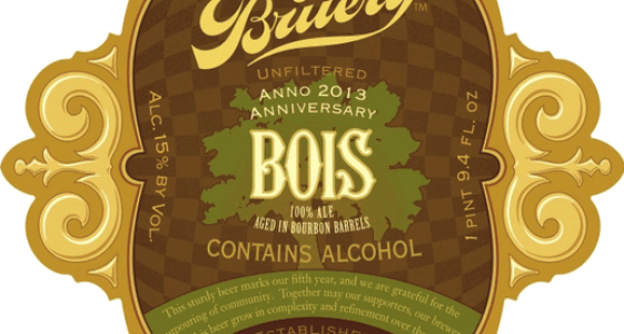 The Bruery Bois