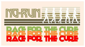 No-Run Race For The Cure
