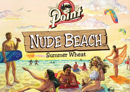 Stevens Point Brewery - Nude Beach Summer Wheat