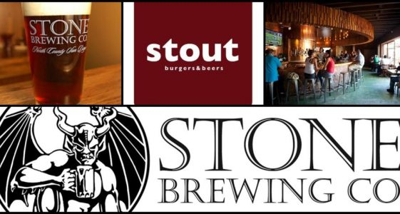 Stone Brewing Co. @ Stout Burgers