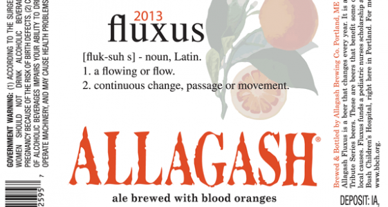 Allagash Fluxus 2013