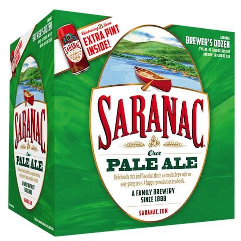 Saranac Pale 12 pack