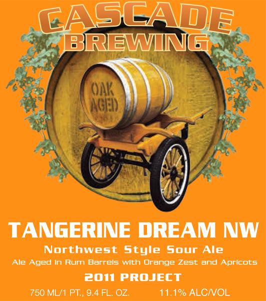 Cascade Brewing Tangerine Dream NW