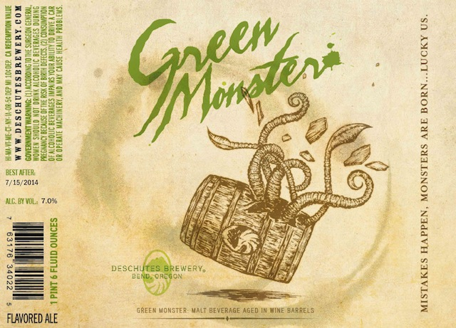 Deschutes Brewery - Green Monster