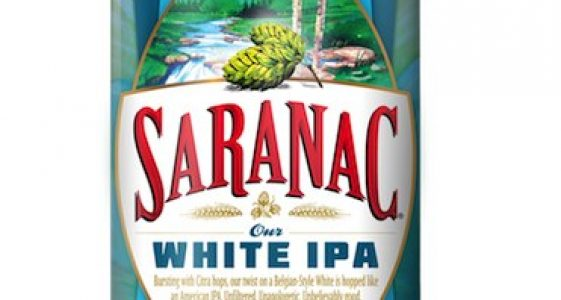 Saranac White IPA Can