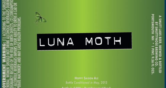 Smuttynose Luna Moth