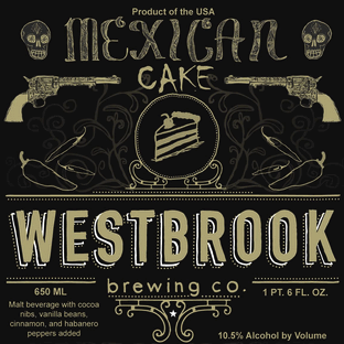 mexican cake beer westbrook mexican cake thefullpint 5852
