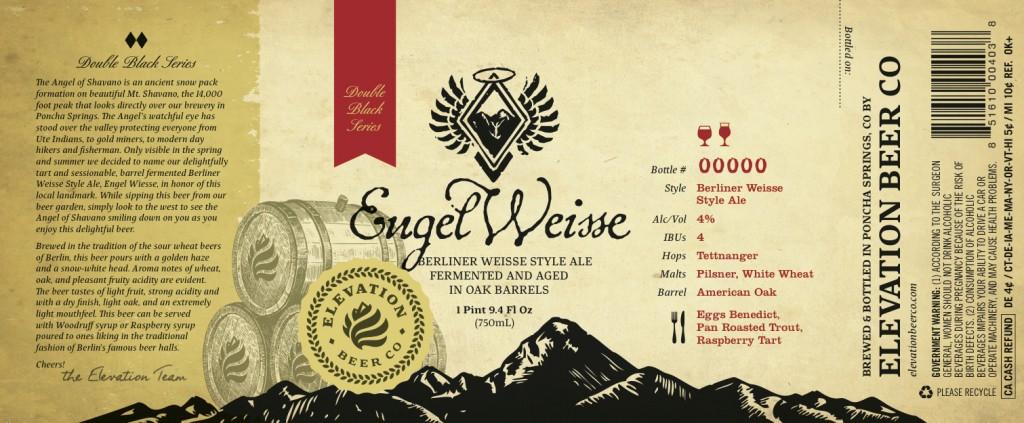 Elevation Beer Co. - Engel Weisse
