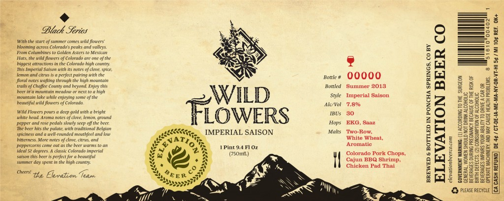 Elevation Beer Co. - Wild Flowers