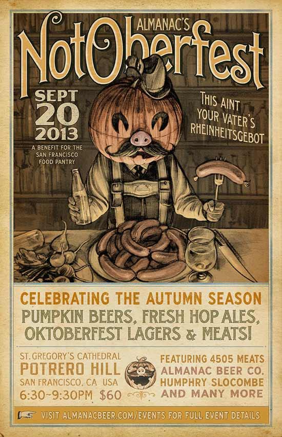 Almanac Beer Co. - NotOberfest 2013