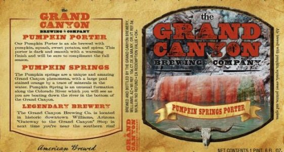 Grand Canyon Pumpkin Springs Porter