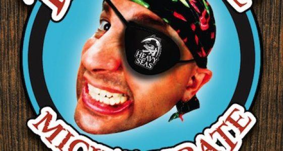 Mick T Pirate Poster