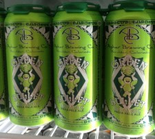 The Green Bullet Organic IPA Cans