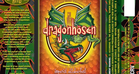 Boulder Beer - Dragonhosen Imperial Oktoberfest