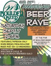 Boulder Beer - 34th Anniversary Beer Rave