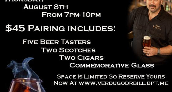 Dr. Bill Pairing at Verdugo Bar
