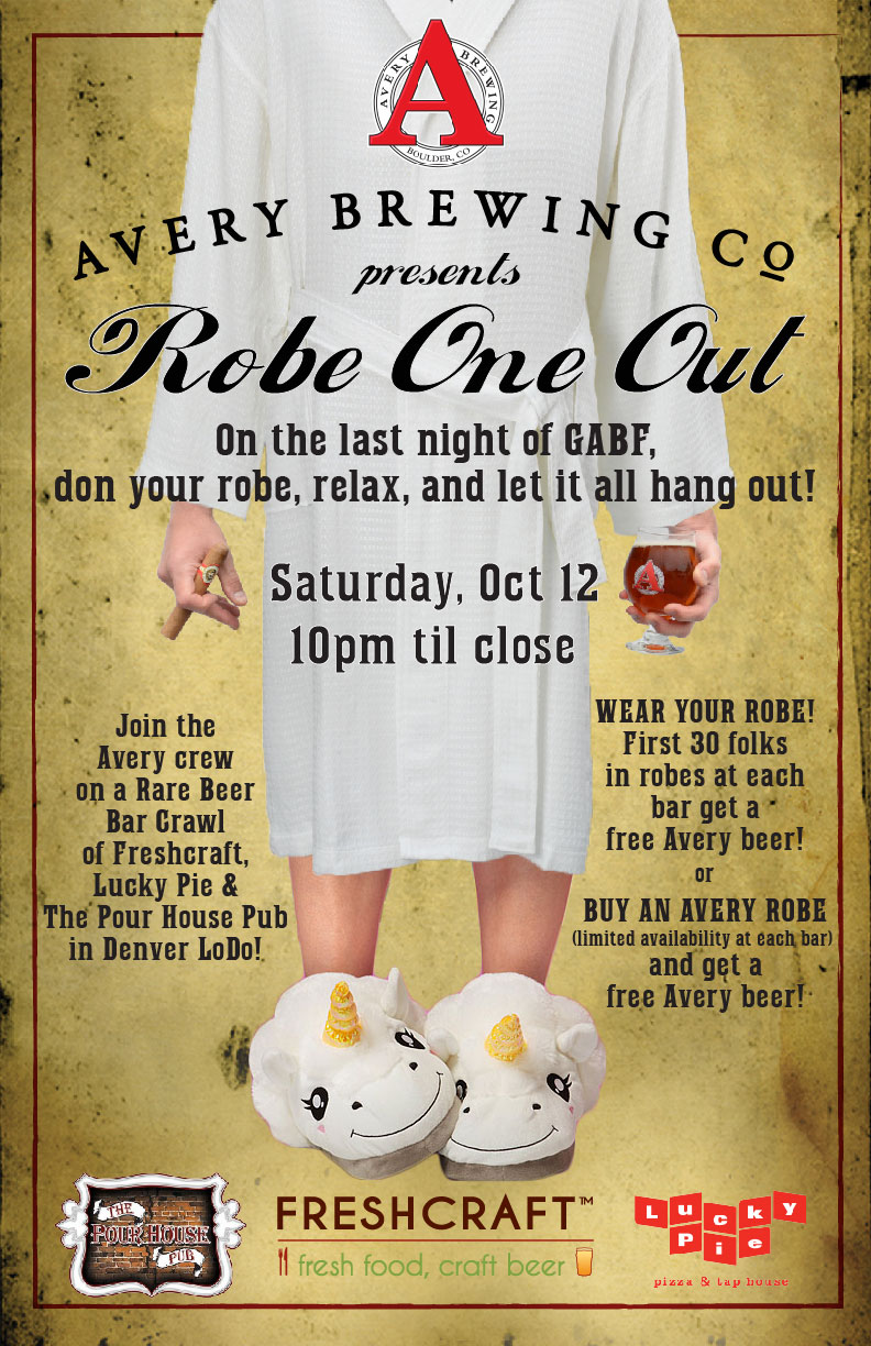 Avery Brewing Robe One Out