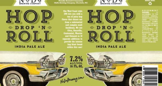 NoDa Hop Drop and Roll Can