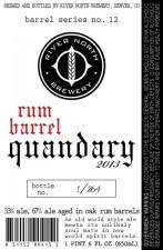River North Rum Barrel Quandary