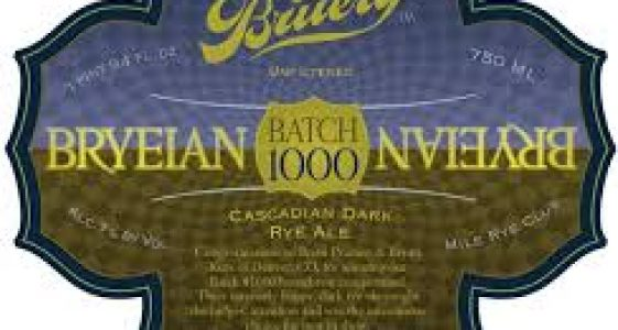 The Bruery Batch 1000 Bryeian