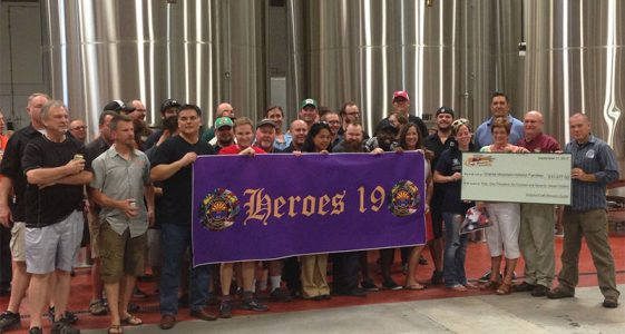 AZ Craft Brewers Guild - Heroes 19 Check Presentation