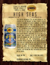 Cigar City Brewing - Hopped on the High Seas Caribbean-style IPA