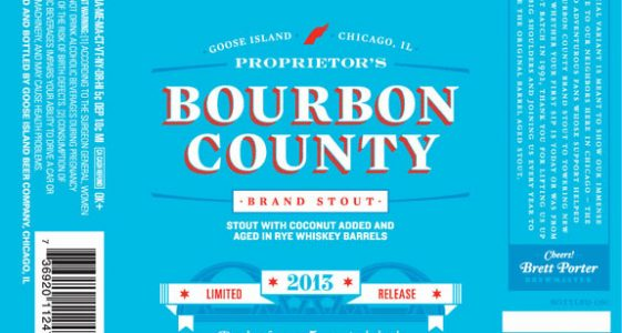 Goose Island Bourbon County Proprietors