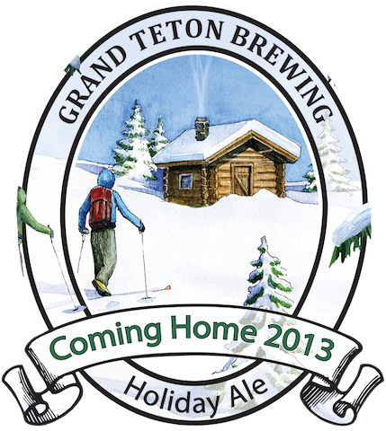Grand Teton Come Home Holiday Ale 2013