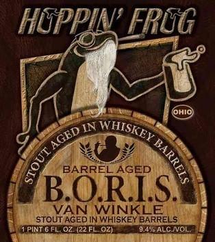 Hoppin Frog Barrel Aged BORIS Van Wink