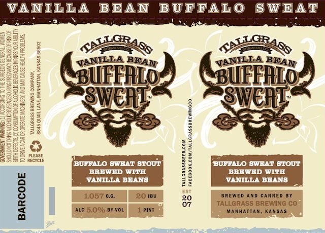 Tallgrass Vanilla Bean Buffalo Sweat